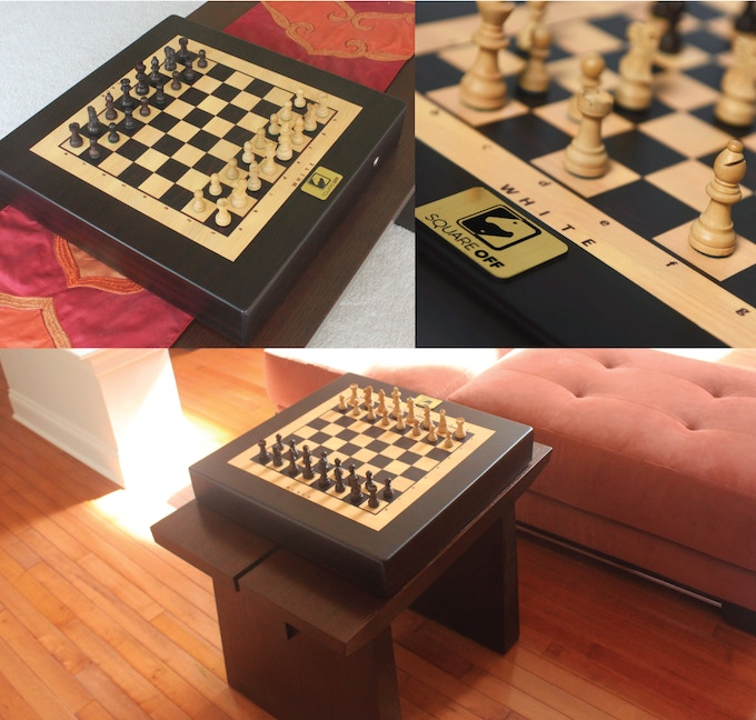 Square Off is ready and waiting to be placed in your living room