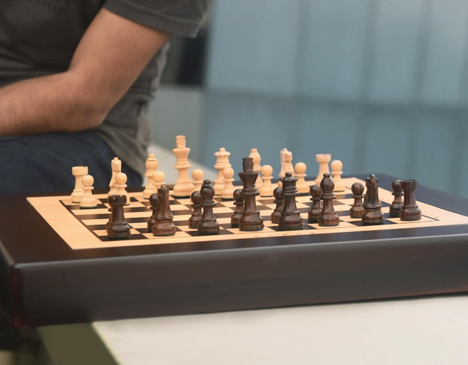 What better way to surprise a chess lover than gifting a Square Off?