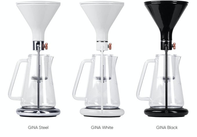 77764b1d51fb54 We compared GINA with a number of coffee brewing devices out there and we  believe she can proudly stand next to each: