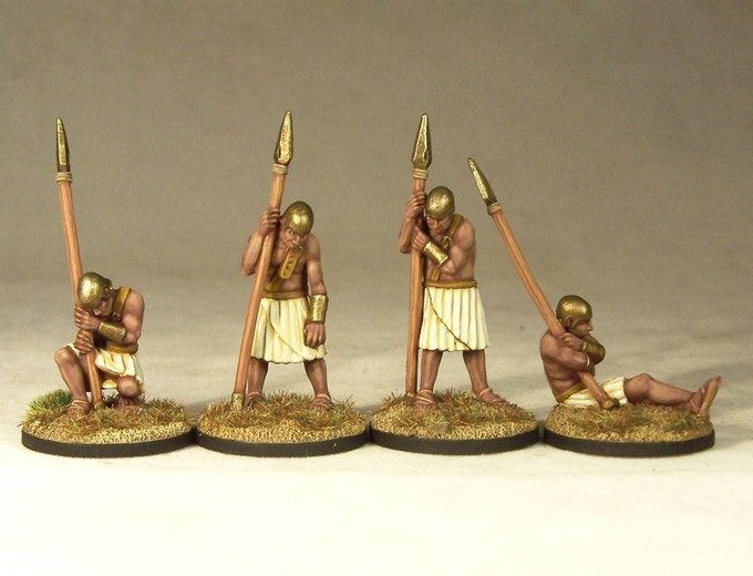 Sleepy Sentries, sculpted by Bobby Jackson, painted by Andrew Taylor.