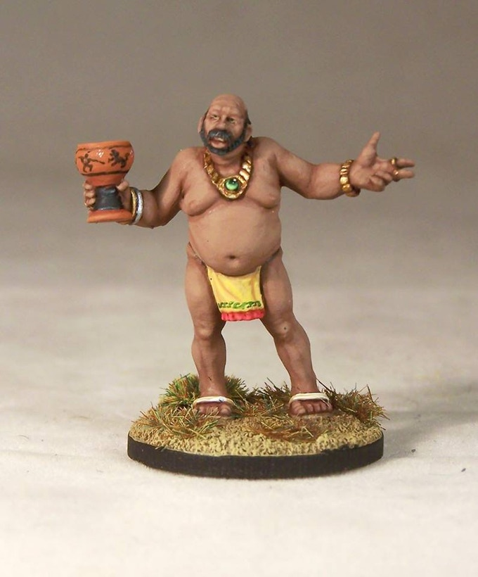 The Sleazy Merchant, sculpted by Kev White and painted by Andrew Taylor.