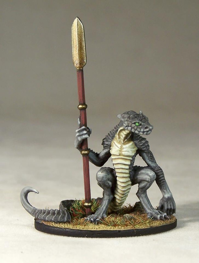 Sculpted by the legendary John Dennett, painted by Andrew Taylor.