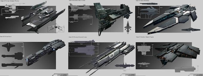 A Sampling of Sol Warships