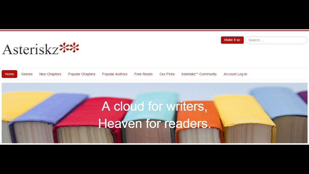 Site for writers