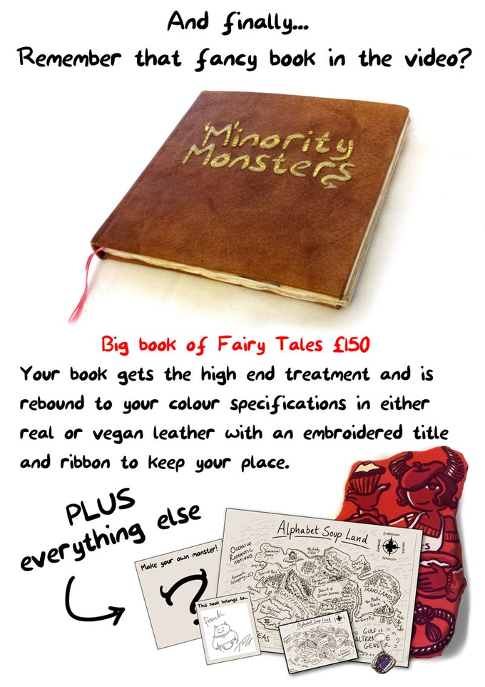 The Minority Monsters Book by Tab Kimpton — Kickstarter