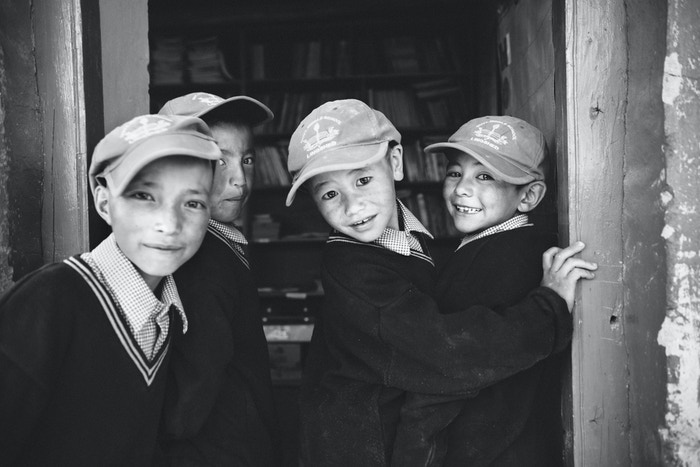 Children of Zanskar - a stunning photography book, will raise funds for the local school and children of Lingshed valley, Himalayas.
