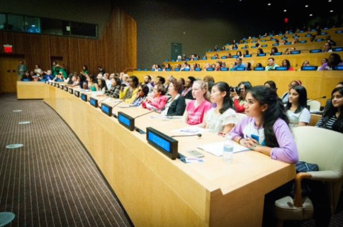 Girls Learn International at the United Nations