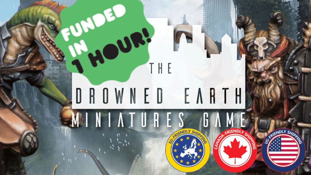 The Drowned Earth Miniatures Game project video thumbnail