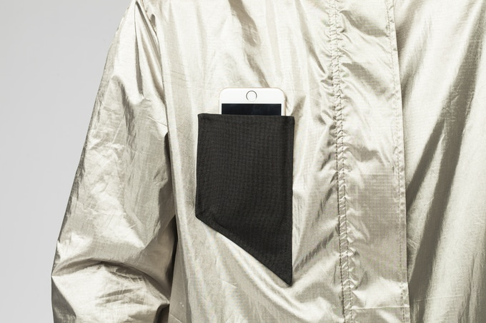 The black pocket allows you to still be reachable with your device of choice.