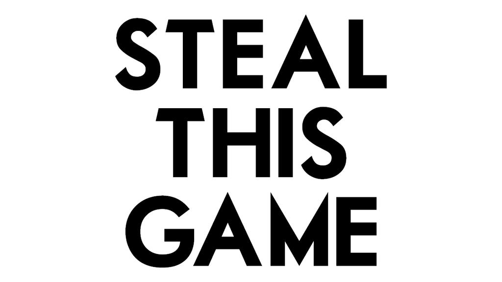 Steal This Game project video thumbnail