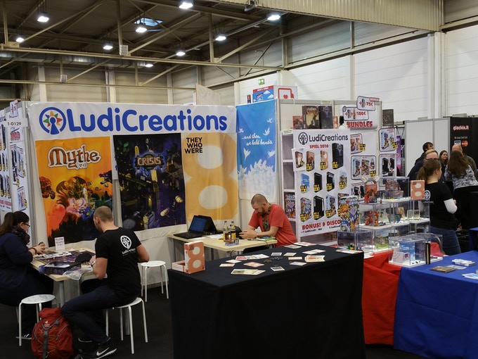 Ludicreations at Essen 2016