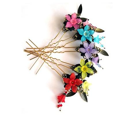 """Katana of Gion"" Hair Ornaments by KUMI / Photo by Clange"