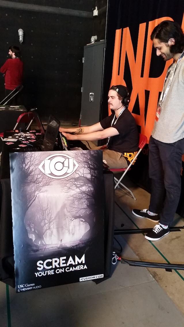 i c u the interactive horror game show by keenan criken