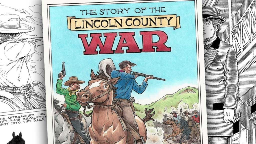 The Story of the Lincoln County War by Rick Geary project video thumbnail