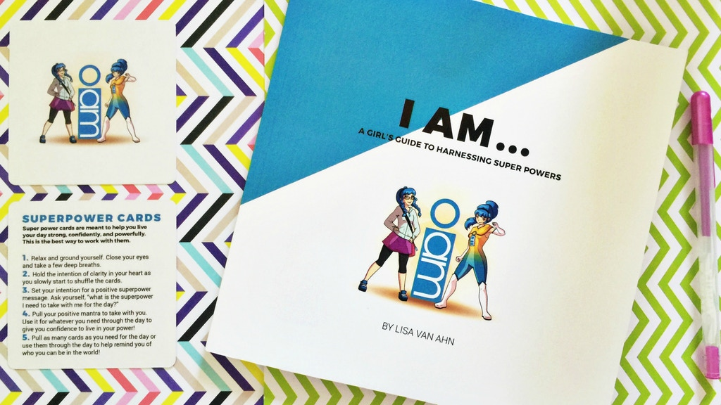 Super Powers For Every Girl - Book & Cards project video thumbnail
