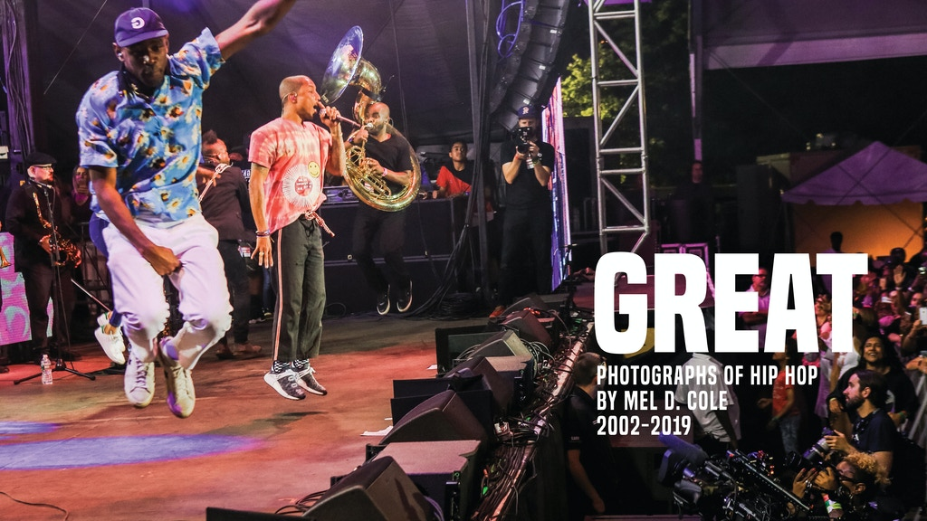 Mel D. Cole Presents GREAT: Photographs of Hip Hop 2002-2019 project video thumbnail