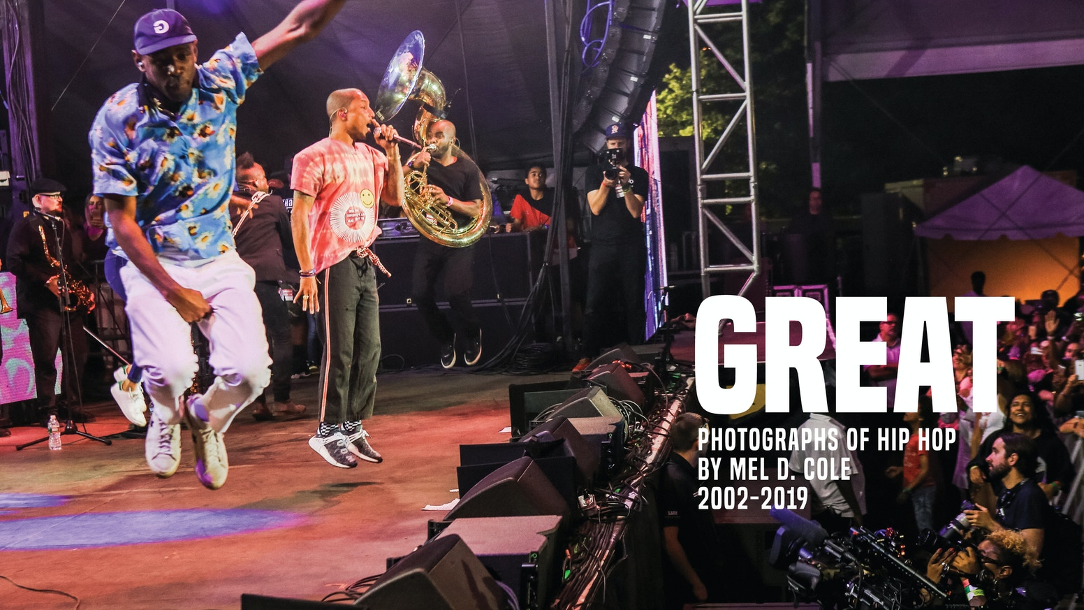 Mel D  Cole Presents GREAT: Photographs of Hip Hop 2002-2019