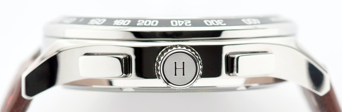 316L Stainless Steel Heitis Chronograph case