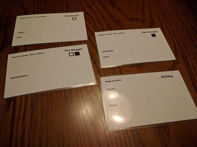 Prototype version of reusable cards