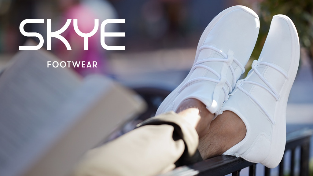 SKYE Footwear | Ultra-comfy shoes for always. project video thumbnail