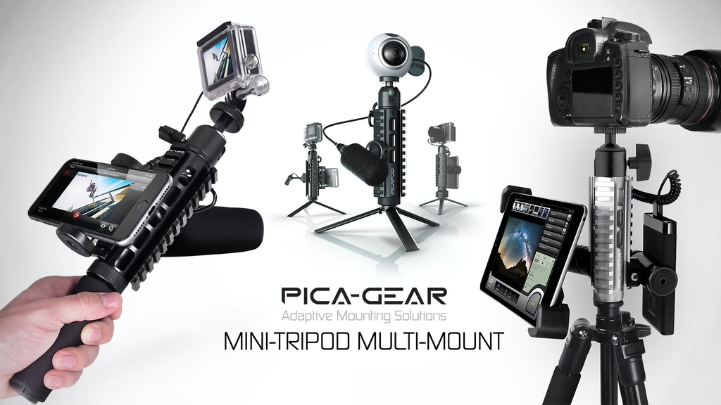 PICA-POD Mini Tripod - Adaptive Mounting Solution project video thumbnail