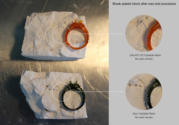 M-Jewelry - A Professional UV-LED, Wireless DLP 3D Printer by MakeX