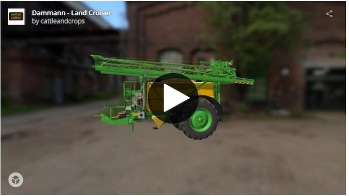 Dammann Land Cruiser 3D model