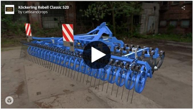 Köckerling Rebell Classic 3d model