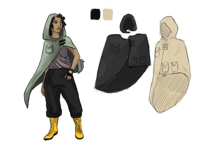 Starfarer Cloak Design