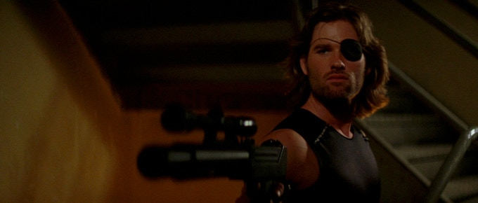 """The name's Plissken."""