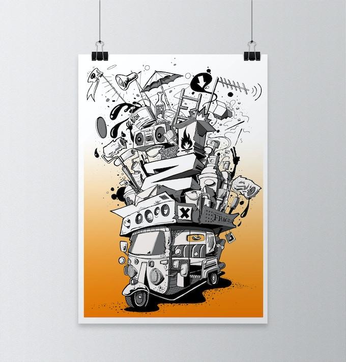 Ziner (Large Print)