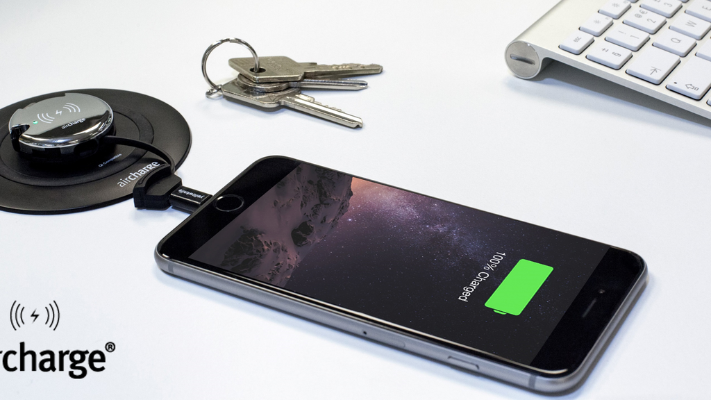 Aircharge Keyring: Wireless power for your smartphone & more project video thumbnail