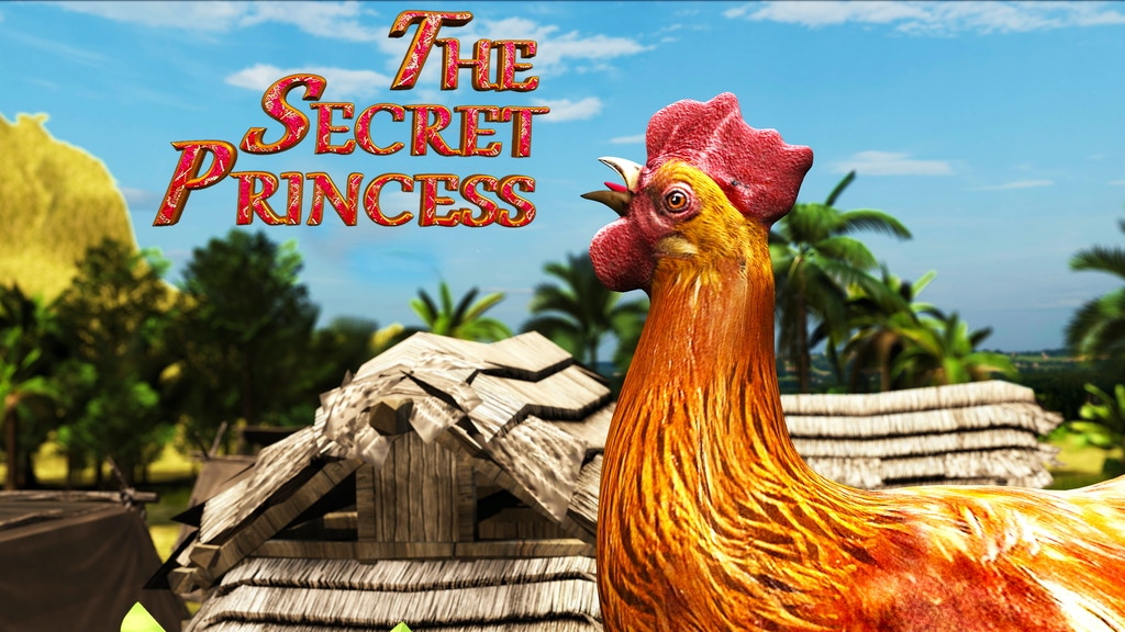 The Secret Princess - A new genre of animation project video thumbnail