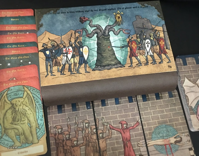Necronomicon wooden book-case, customize your back side