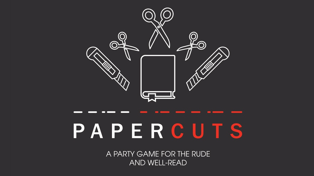 Papercuts: A Party Game for the Rude and Well-Read project video thumbnail