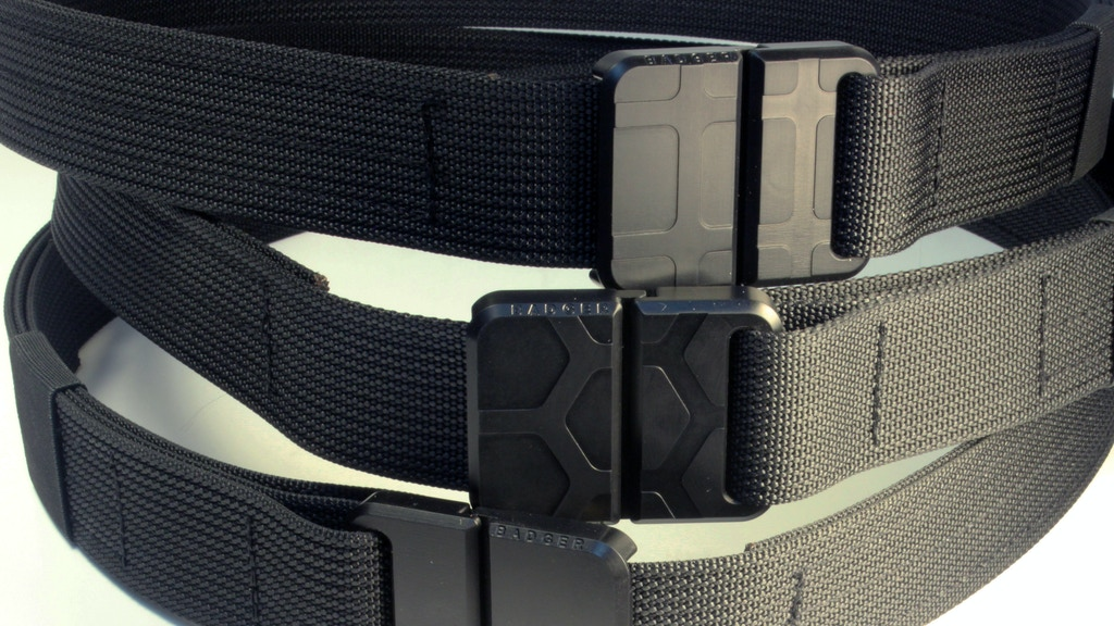 BadgerStrap - Magnetic Tactical Belt project video thumbnail