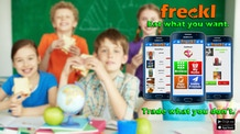 Freckl: The World's 1st Lunch Trading App for Kids!