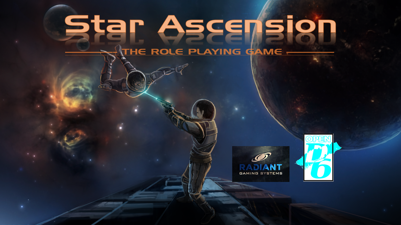 Star Ascension - A gritty sci-fi RPG of exploration, adventure, danger and interstellar war in Open D6