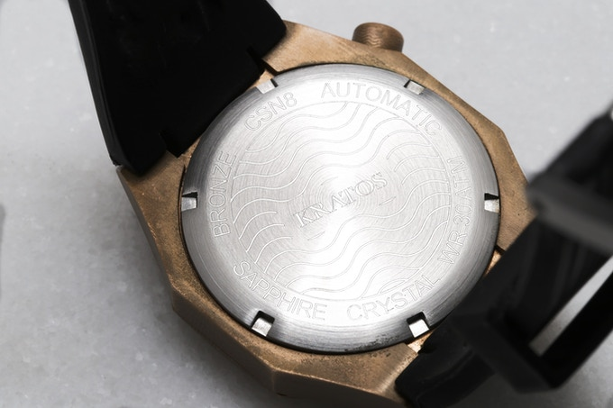 Stainless Steel Caseback