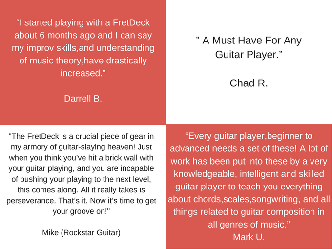Fretdeck Guitar Learning Cards By Justin Comstock Kickstarter