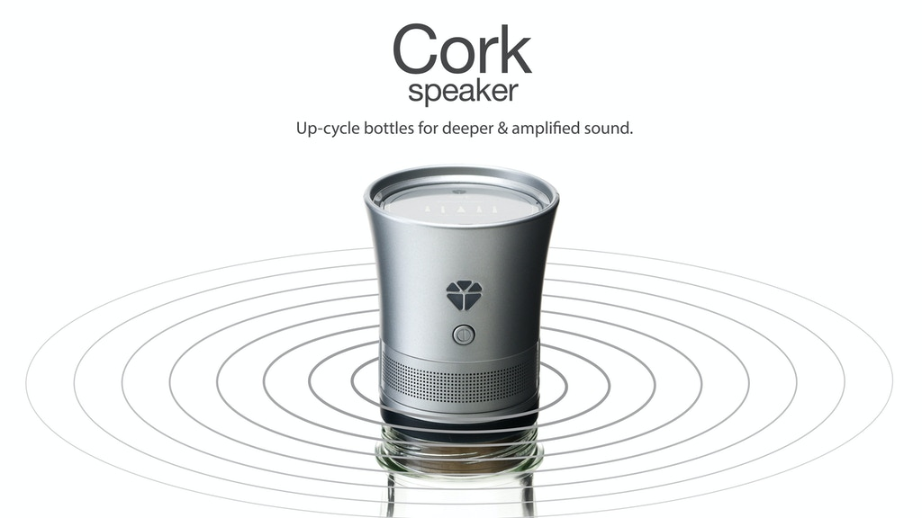 Cork : Up-cycle used bottles into beautiful speakers project video thumbnail