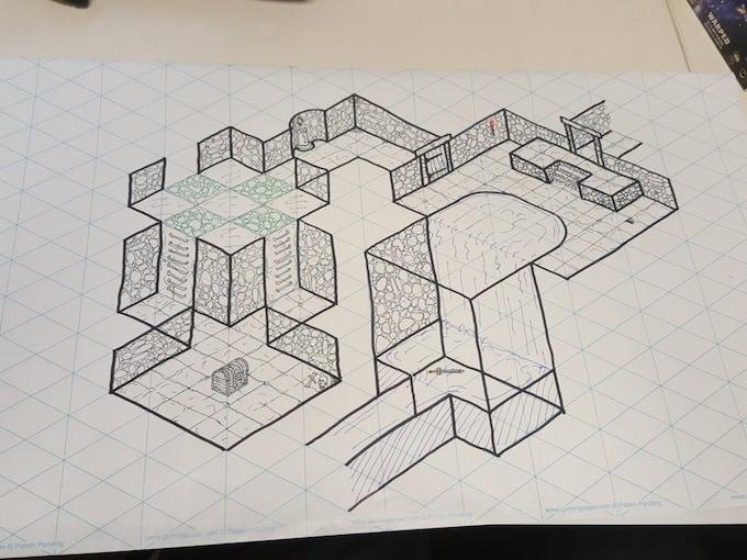 Isometric Gaming Paper Rolls By Erik Bauer Kickstarter Isometric
