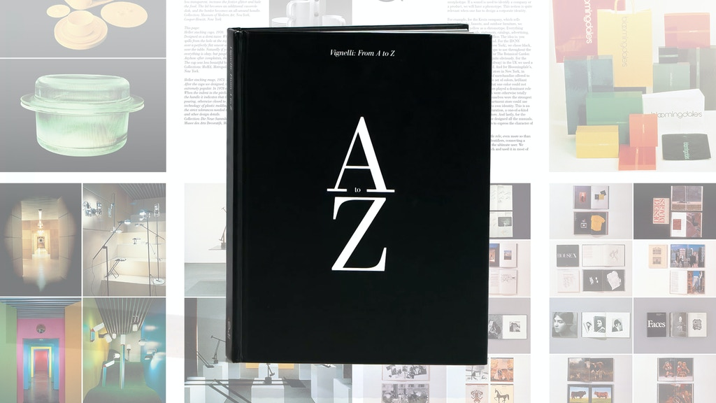 "Reissuing the ""Vignelli: From A to Z"" Book project video thumbnail"