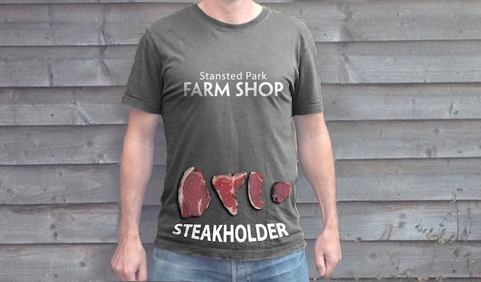 Crowd funding T-shirt