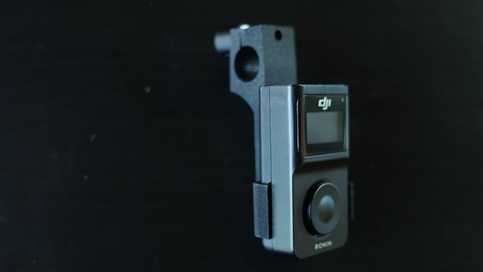 Ronin thumb controller mount for 15mm rods