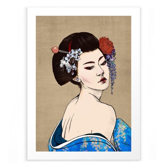 Limited Edition Giclee Print / Art by Eimi Hu