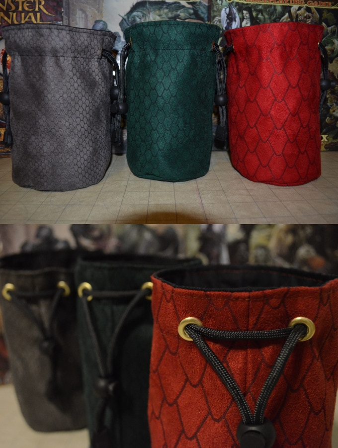 The Dragon Scale Bags