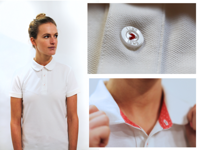 The Camden Polo comes in mens and women's specific styles. Click here to find out more.