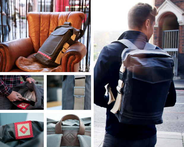 To find out more about the Bermondsey Backpack, click here.