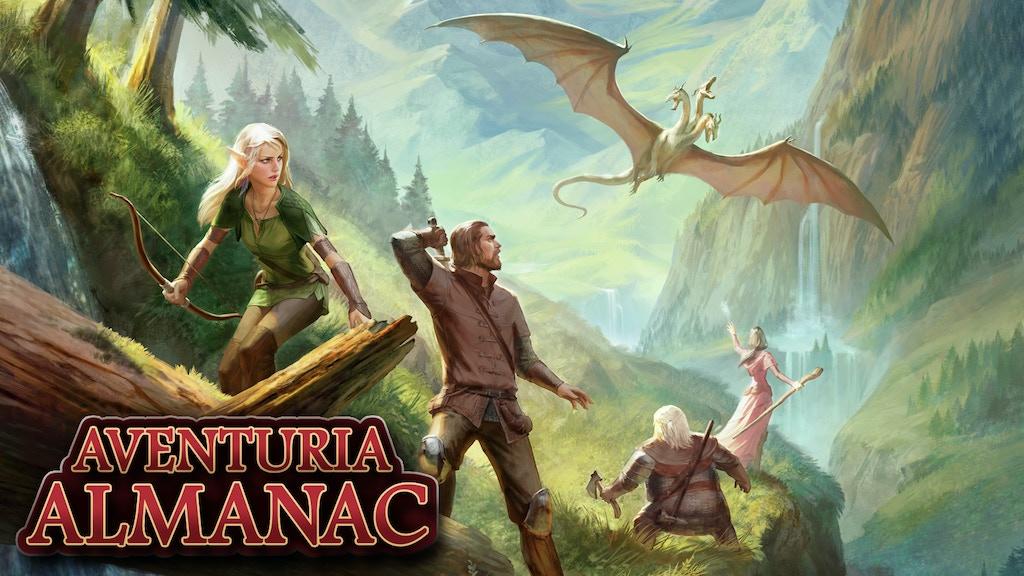 Aventuria Almanac - The Dark Eye RPG project video thumbnail